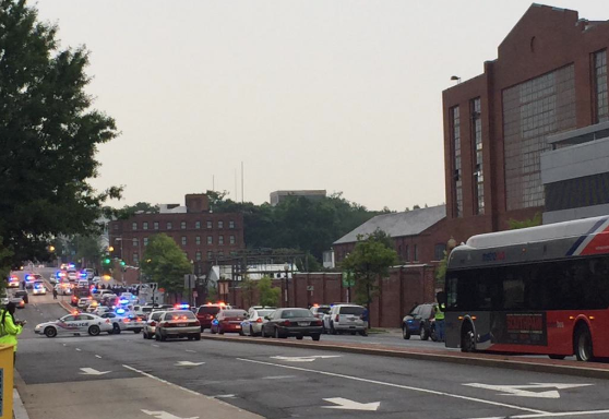 Washington DC's Navy Yard Is On Lockdown After 9-1-1 Call Reported A Possible ActiveShooter