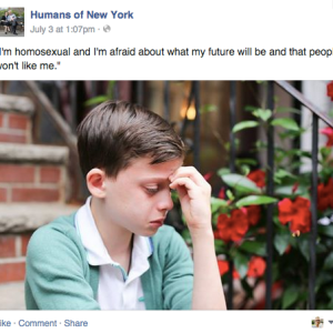 18 Incredibly Heartwarming Responses (Including Hillary Clinton And Ellen DeGeneres) To A Young Boy Afraid Of Being Gay