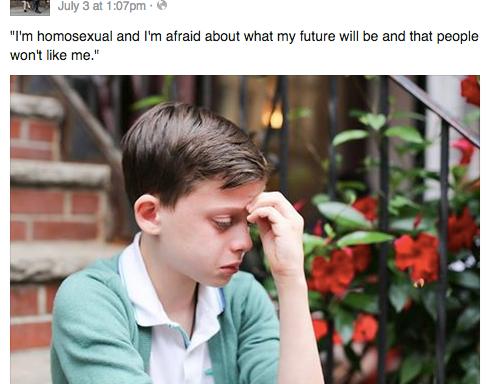 18 Incredibly Heartwarming Responses (Including Hillary Clinton And Ellen DeGeneres) To A Young Boy Afraid Of BeingGay