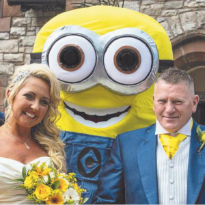 This Couple Had A 'Minions'-Themed Wedding And It Might Be The Cutest Thing You've Ever Seen