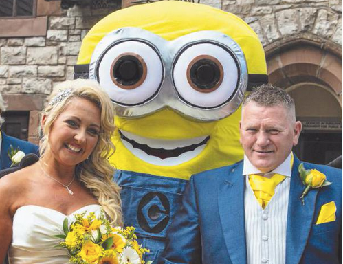 This Couple Had A 'Minions'-Themed Wedding And It Might Be The Cutest Thing You've EverSeen