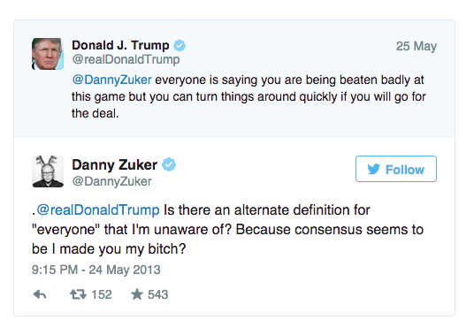 This Twitter Fight Between Donald Trump And A 'Modern Family' Writer Is Still Hilarious Two Years Later