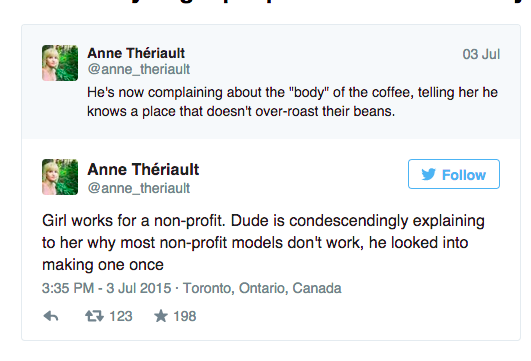 Canadian Woman Live-Tweeted Every Excruciating Moment Of The Bad First Date Going On At The Table Next To Her And It IsHilarious