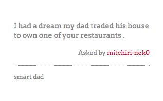 Tumblr / Denny's Diner
