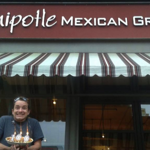 Man After All Our Hearts Has Eaten Chipotle For 100 Days In A Row (And Counting!)