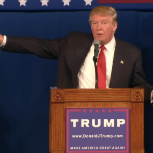 Donald Trump Gave Out Senator Lindsey Graham's Private Cell Phone Number During His Speech