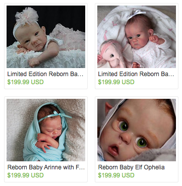 This Might Be The Creepiest Etsy Storefront You'll Ever See