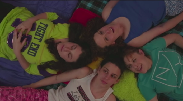 This Is What An Adult Sleepover Looks Like(Video)