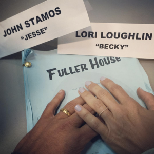 John Stamos Shares 'Fuller House' Photo Showing 'Uncle Jesse' and 'Aunt Becky' Together Again