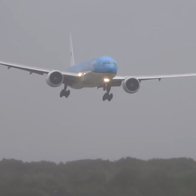 Video Of This Airplane's Turbulant Landing Will Have You Clutching Your Seat In Suspense