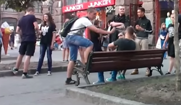 Gay Couple Attacked On The Street For Showing Affection InPublic