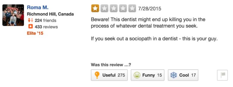 Yelp / River Bluff Dental