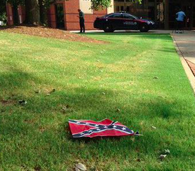 The Baptist Church Where MLK Preached Was Surrounded With Confederate Flags Last Night