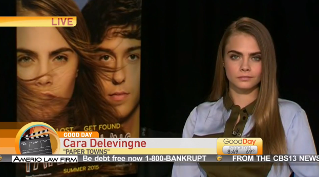 Here's Why Cara Delevingne's Interview With 'Good Day Sacramento' Is Infuriating
