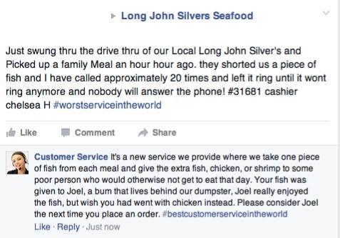 Facebook / Long John Silvers