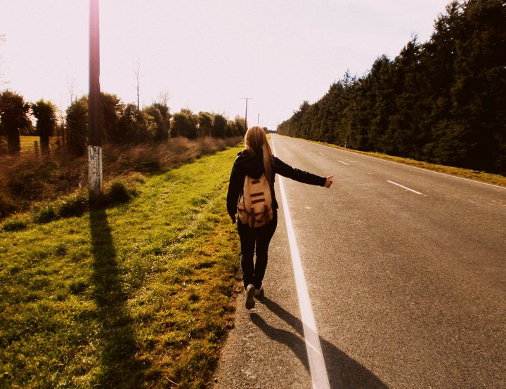Hitchhiking New Zealand in 2011