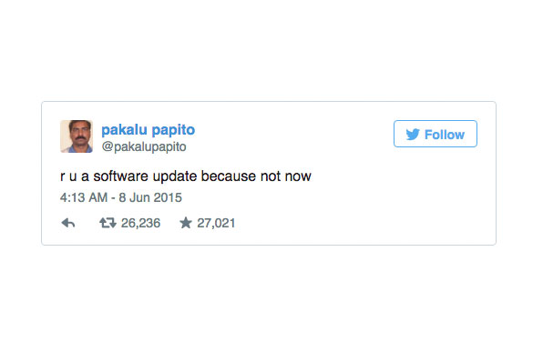 34 Of The Funniest @Pakalupapito Tweets You'll ReadToday