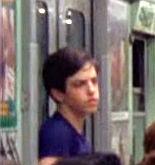 1976 boy on subway