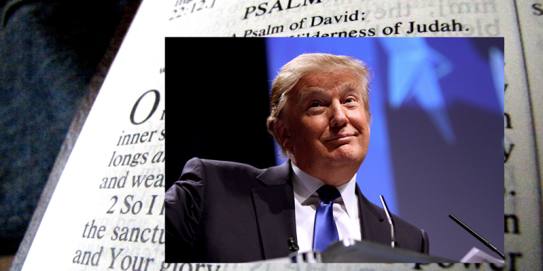The 24 Best Verses For A Potential#TrumpBible