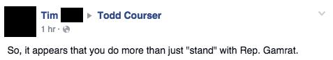 Facebook / Todd Courser