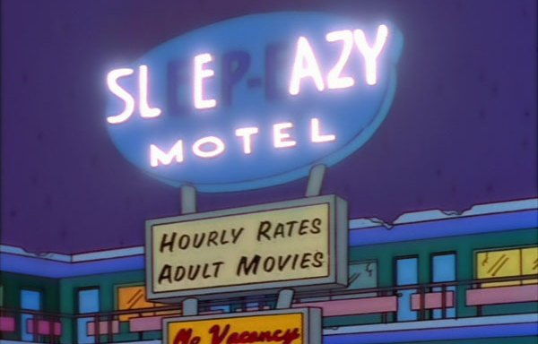 18 Of The Best Signs From 'The Simpsons' You Probably ForgotAbout