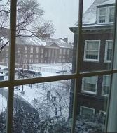 boylan hall in winter