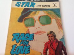 british romance comic