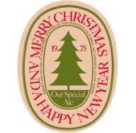 Christmas 1975 beer coaster