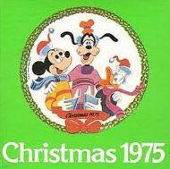 Christmas 1975 Disney characters