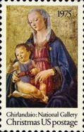 Christmas 1975 stamp