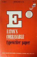 eaton's typewriter paper