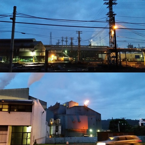 Blue flame, red flame: the Edgar Thompson Plant in Braddock, PA