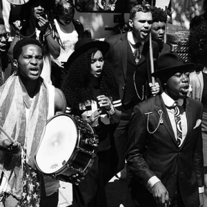 Recapping Janelle Monáe's Peaceful Police Brutality Protest In L.A.