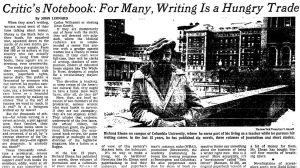 john leonard writers struggles