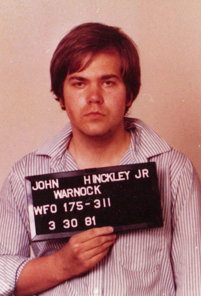 John Hinckley. (Wikimedia Commons)