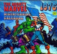 Marvel Calender 1976