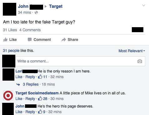 Facebook / Target