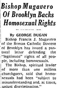 mugavero gay rights