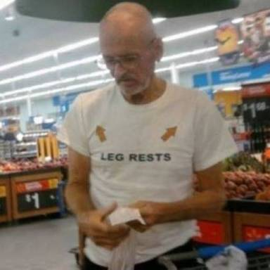 15 Hilarious Photos Of Old People Wearing Ridiculous Shirts