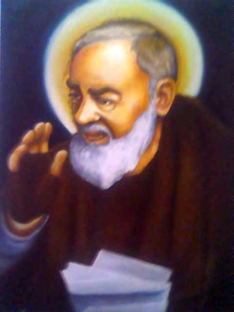St. Padre Pio.  Flickr /// Jun Perez