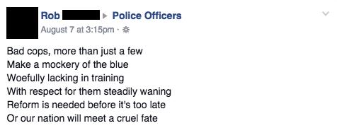 Facebook / Police Officers