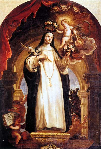 St. Rose of Lima. (Wikimedia Commons)