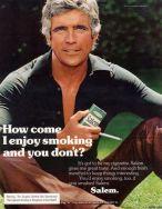 Salem cigarette ad 1976