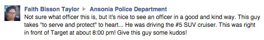 Facebook / Ansonia Police Department