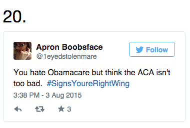 24 #SignsYoureRightWing That Hilariously Hit The Nail On The Head