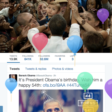 This Is Twitter's Birthday Present To President Obama And Now Everyone Wants A Piece Of It