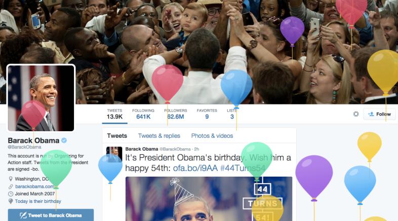 Twitter / Barack Obama