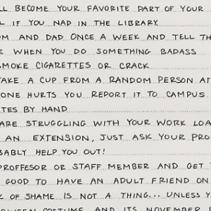 A College Grad Gave Her Little Sister This Awesome List Of Advice That Applies To ALL College Students