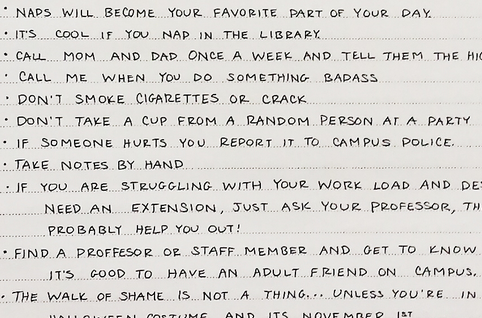 A College Grad Gave Her Little Sister This Awesome List Of Advice That Applies To ALL CollegeStudents