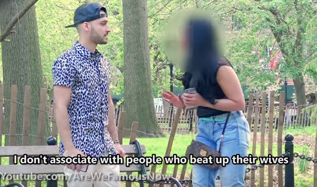 Watch This Video Of A Woman Turning Down A Date Because He'sMuslim